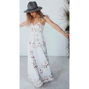 Farm Rio Anthropologie Maxi Dress Size 4